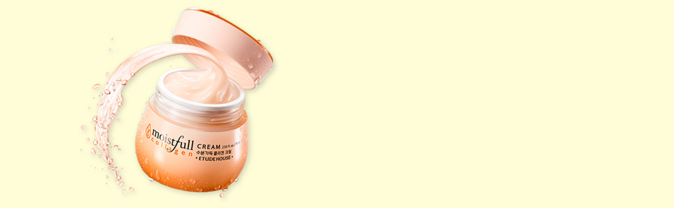 ETUDE HOUSE Moistfull Collagen Cream, Soft Moist Gel Type Moisturizing Facial Cream, 63.4% Super Collagen Water & Bobab Water Makes Skin Plumpy with Long Lasting Moist, 2.53 Fl Oz 9