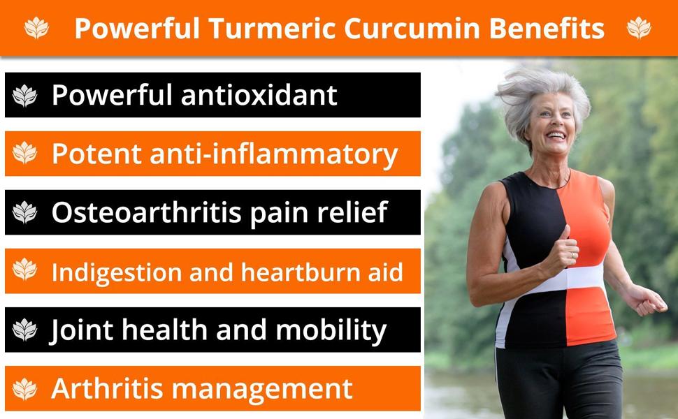 best turmeric curcumin benefits