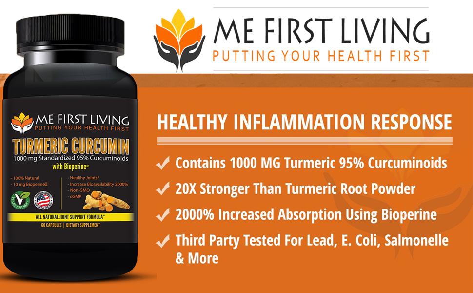 Best Turmeric Curcumin Bioperine Supplement