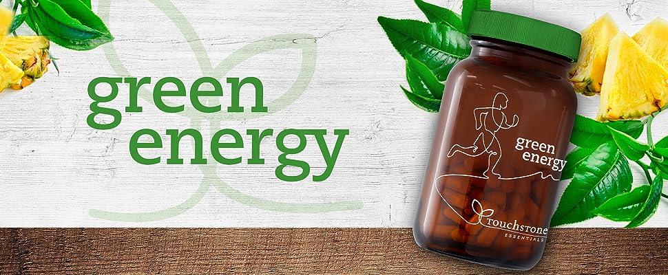 Green Energy - Proteolytic Enzymes, Serrapeptase, Nattokinase, Bromelain, Protease,...