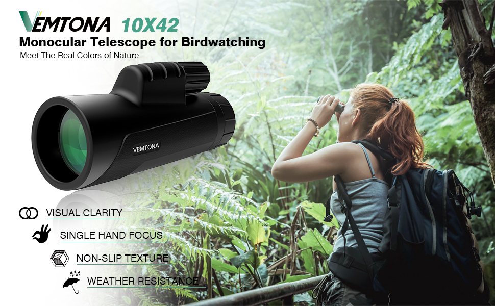 Amazon monocular telescope vemtona hd compact