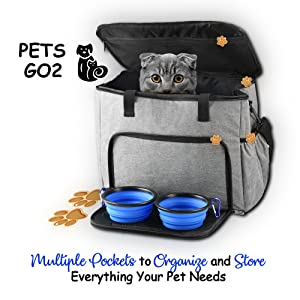 PETS GO2 Travel Bag
