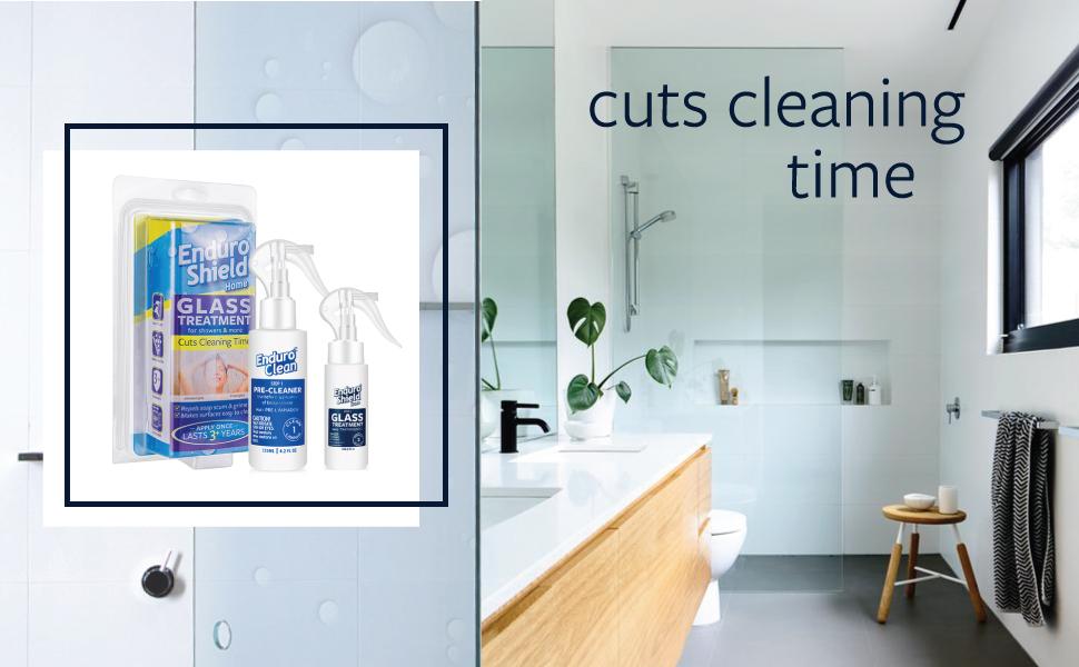 Amazon.com: Enduroshield Home Glass Treatment Kit for Showers and ...