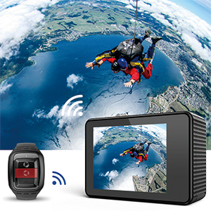 TEC.BEAN 4K Action Camera WiFi 14MP Ultra HD Waterproof Sports Camera - HK Shared Dream