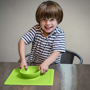 ezpz's all-in-one placemat + bowl