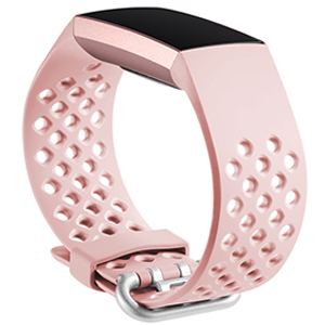 maledan for fitbit charge 3 band pink