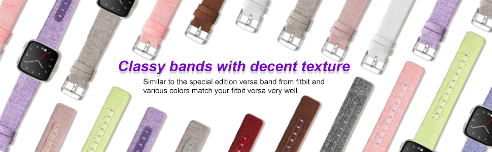 bands fitbit versa watchband wristband replacement