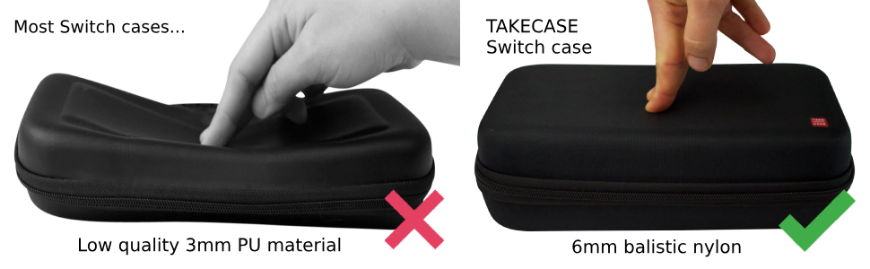 Amazon.com: TAKECASE Funda de transporte para consola ...