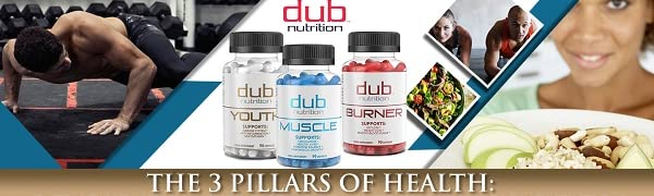 fat burner weight loss supplement anti aging multi vitamin lean muscle growth dub nutrition natural