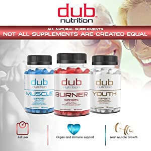 All natural supplementation muscle growth immune boost fat loss burner weight multivitamin lean