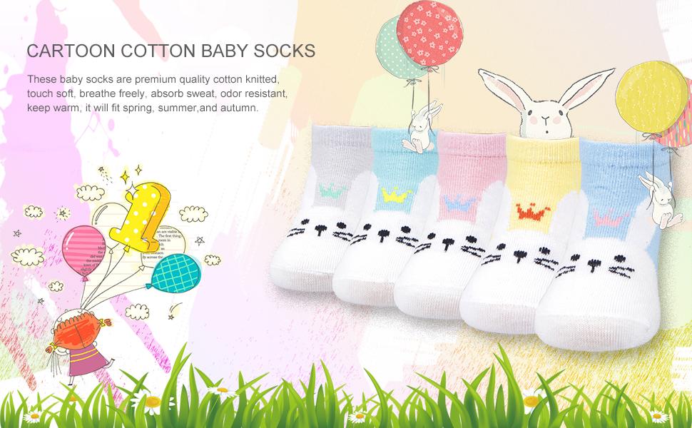 Amazon.com: Ambielly calcetines de bebé calcetines de ...