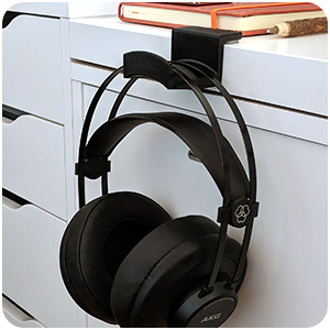cc950b2c9fa headphone hanger audio akg hifiman organizer cables sennheiser shure beats  3dprinted cradle
