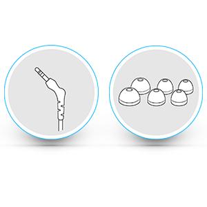 Brainwavz accessories and features