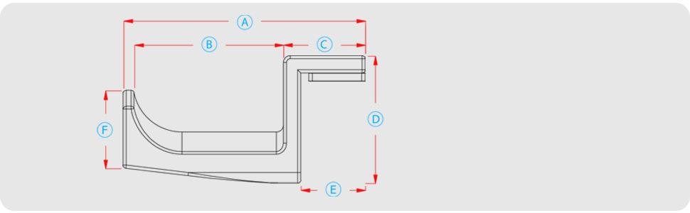 headphone hanger audio akg hifiman organizer cables sennheiser shure beats 3dprinted cradle