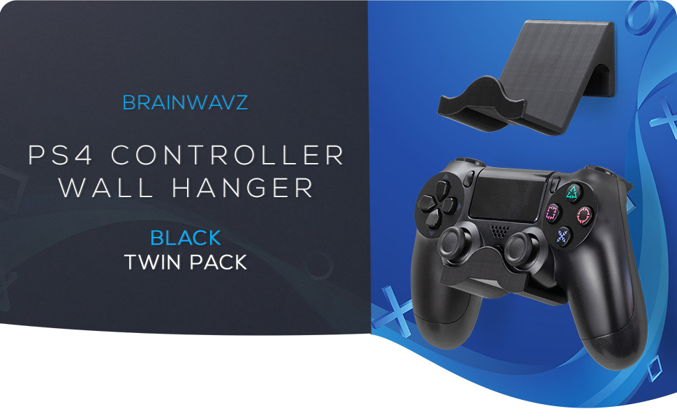 PS4 Sony Dualshock Controller Console Gaming Accessory Hanger  wall mounted gamer wireless storage