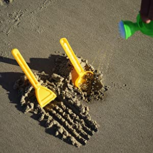 sand toy set for sandbox