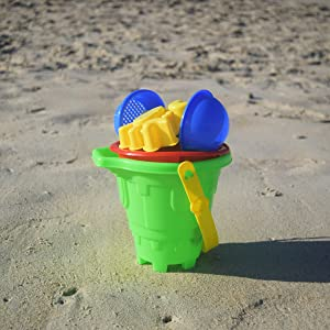 beachgoer beach sand toy set 6 pieces