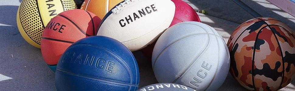 Chance Soccer Ball : Premium Outdoor/Indoor Soccer Ball (Size 4 Kids/Youth, Soccer Ball Size 5 Adult/PRO)