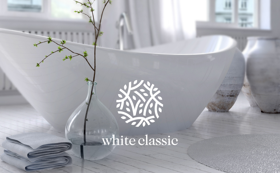 White Classic Towels Every Home a heaven