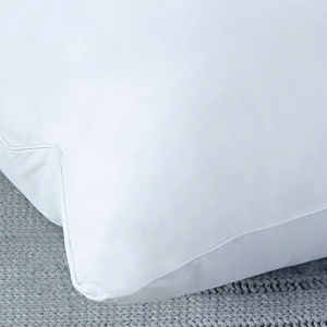 Edges are reinforced with double-needle stitching so your pillows last longer and don't come apart