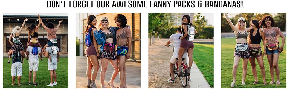fanny pack bandanas