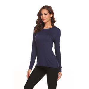 ac3da08e0dd4bd Misakia Women's Sexy Long Sleeve Slim Fit Backless Casual Top Blouse T-Shirt