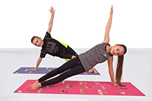 Amazon.com : POETRYOGA - Kids Yoga Mat - with Carry Strap