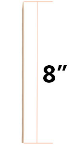 Kabob Skewers for Grilling 8 Inch - Bamboo Sticks, Pack of 500, BBQ Grill Grilling Accessories