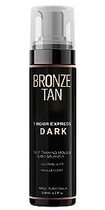 bronze tan, self tanner, self tanner mousse, sunless tanning mousse, self tanner, sunless tanner