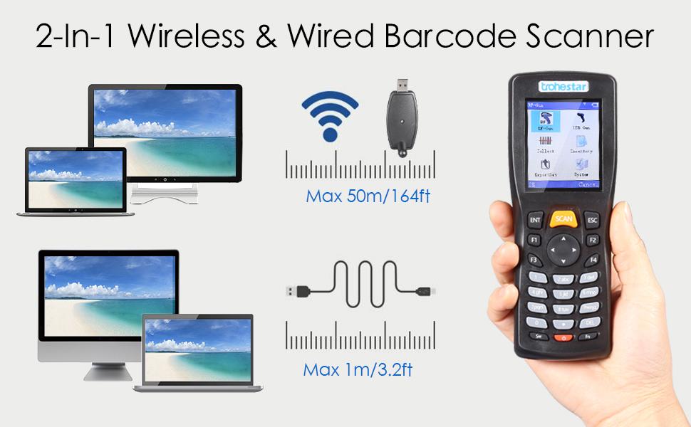 Trohestar Barcode Scanner