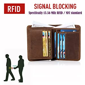 Our RFID blocking insulation prevent theft of valuable information scanner,electronic pickpocketing.