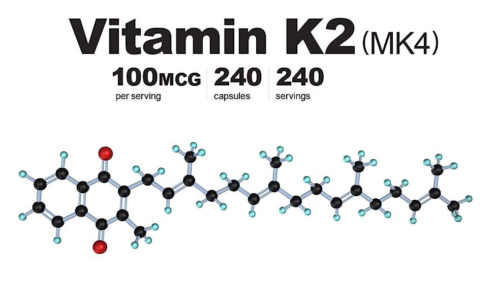 vitamin k2 mk4 capsules supplement pills