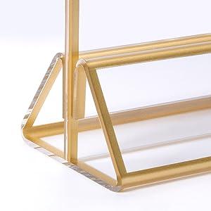 gold floating frame 5x7