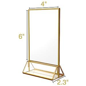 gold frames 4x6