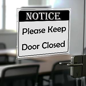 office sign holder