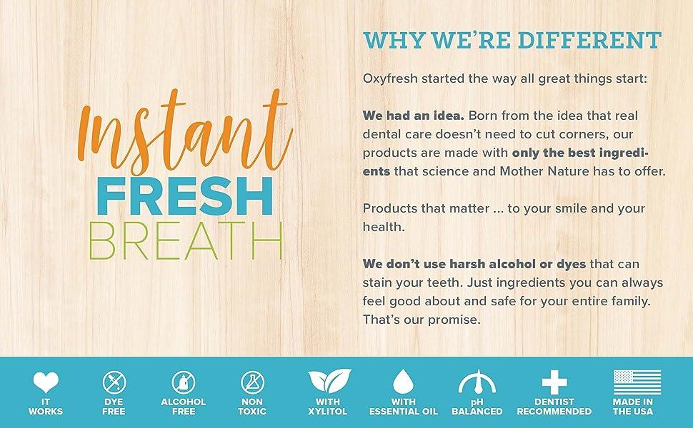 instant fresh breath