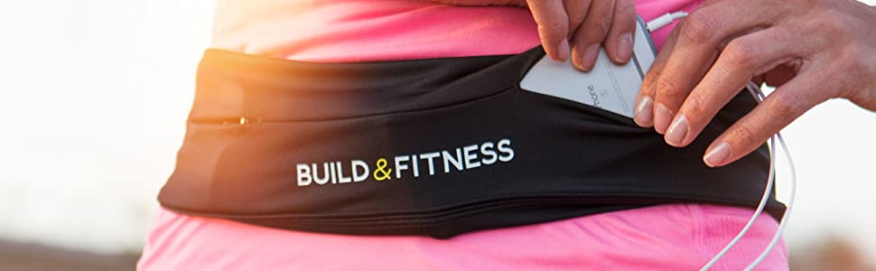 Build and Fitness Running Belt