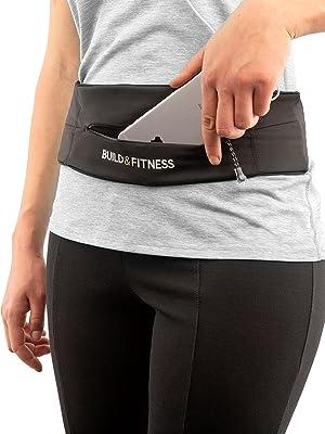 black zipper belt