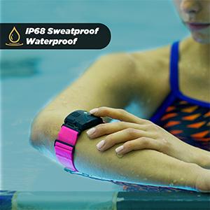 waterproof heart rate monitor rhythm 24 scosche swimming IP68 sweatproof