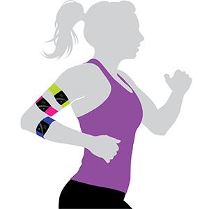 armband heart rate monitor Rhythm 24 Scosche scoshe scotche RTHM24