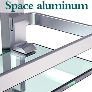wall glass shelf