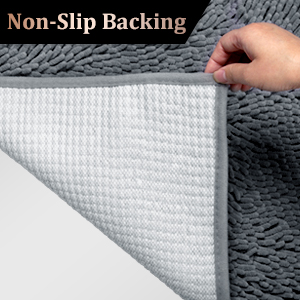 Exceptionnel Non Slip Backing Vdomus Bath Rug Is Designed To Be Skid Proof, No More  Accidents Due To Slippery Floor For Kids And Elders, Place The Mat On A Dry  Surface ...