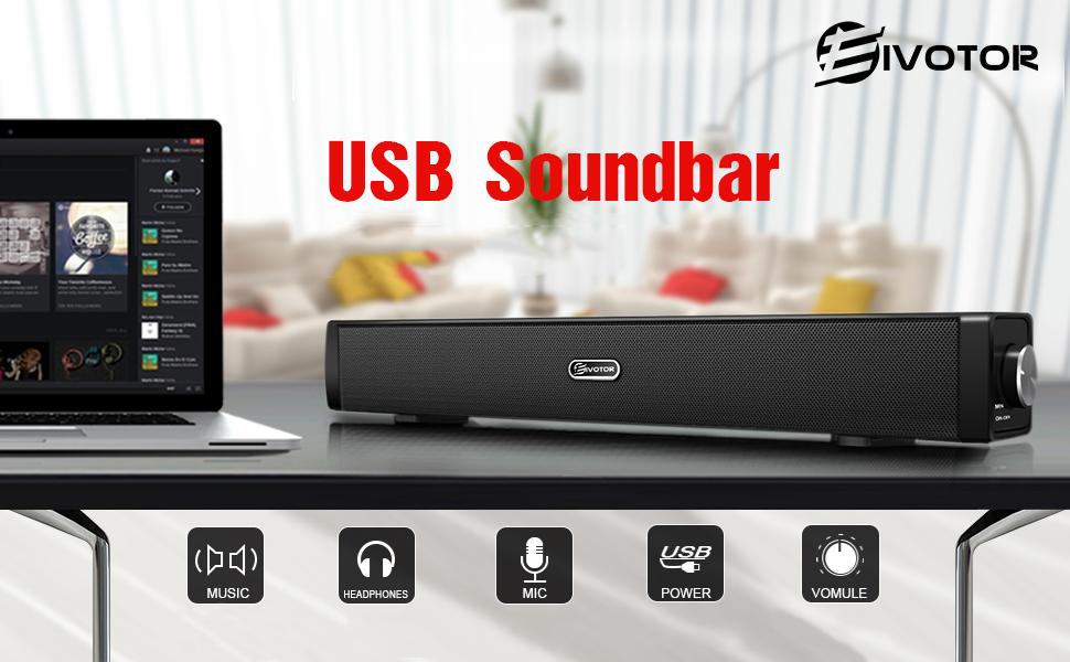 usb sound bar