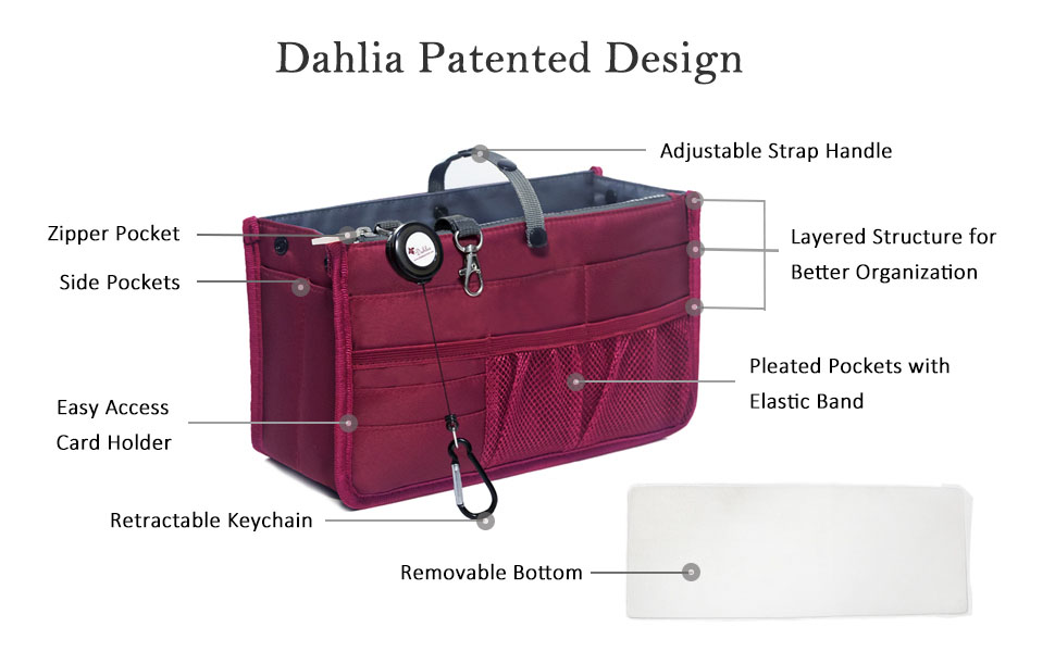Dahlia Patented Design