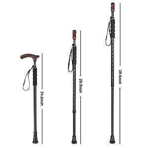 shortened pole