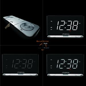 Amazon Com Itoma Alarm Clock Radio Digital Fm Radio