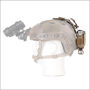 helmet battery pouch