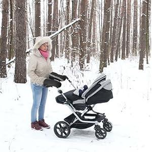 Amazon.com: Pram Muff Travel Gear Strollers Accessories Warm ...