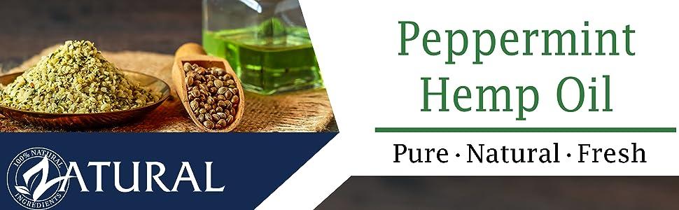 peppermint hemp oil