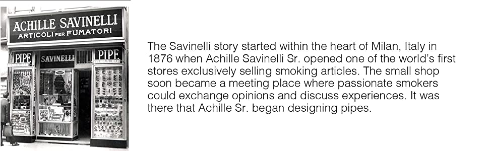 About Savinelli